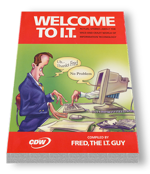 Part of the CDW IT advertising campaign.