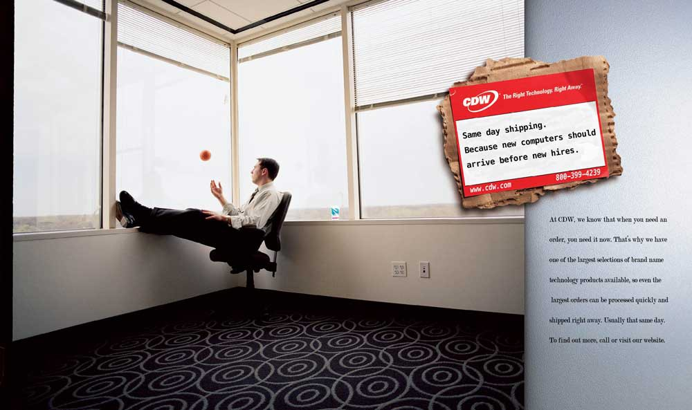 CDW is known for their customer service