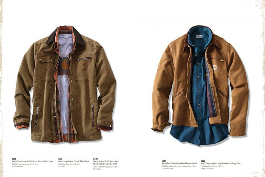 Just one page from this Carhartt product brochure