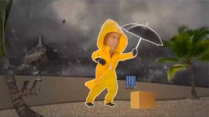 Humor in Advertising: Ernest Packaging vs. a hurricane